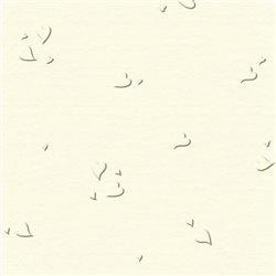 """Бумага для Scrapbooking, """"Elegans"""", 30,5х30,5см, 220г/м2, """"Сердечки"""", Слоновая кость"""