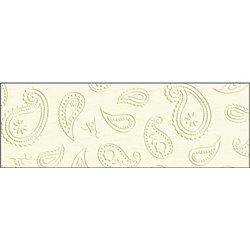 """Картон тисненый Elegance""""Огурцы"""" 220г/cm, 23 х 33 см /слоновая кость"""