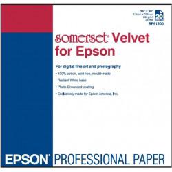 Бумага для печатных техник Somerset-Book Soft White 115 г/м, 2 рваных края 66х101.6 см
