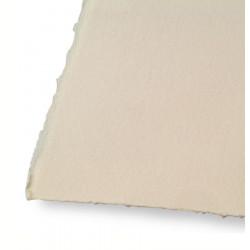 Бумага для печатных техник Somerset Velvet Buff 250 г/м 4 рваных края, 56х76 см