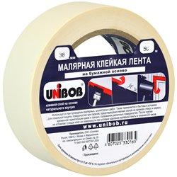 Клейкая лента малярная Unibob, 38мм*50м