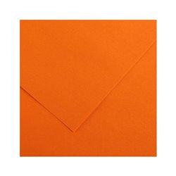 09. Картон цв. Vivaldi 50x65 пл.240гр/м Оранжевый