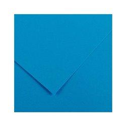 22.Картон цв. Vivaldi 50x70 пл.120гр/м Лазурный голубой