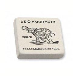 Ластик KOH-I-NOOR ELEPHANT 300/08 каучук 56x50x16 мм белый прямоуг.