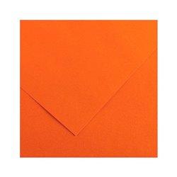 09.Картон цв. Vivaldi 50x70 пл.120гр/м Оранжевый