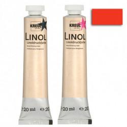 Краска для линогравюры LINOLDRUCK Киноварь