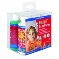 Набор красок для детского творчества Mucki Kreul 6 цв по 80 мл