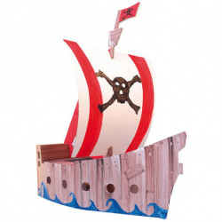 Картонный пиратский корабль для сборки и декорирования Joypac