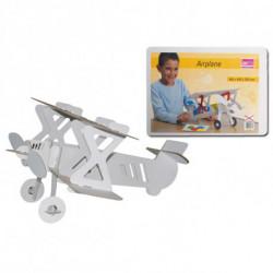 Картонный самолет для сборки и декорирования Joypac