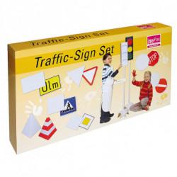 Набор картонных знаков дорожного движения Joypac 39 шт.