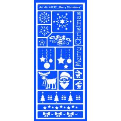 """Трафарет универсальный """"Счастливого рождества"""""""