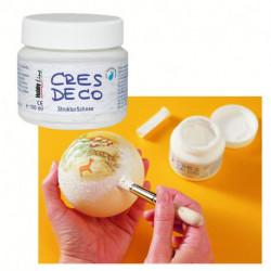 Паста CRES DECO для имитации снега, песка, эффекта битого стекла на водн. основе