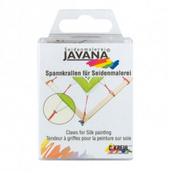 "Когти 2-зубец ""Явана"" для натягивания шелка, 24шт."
