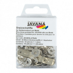 """Кнопка-трезубец """"Javana"""", 50шт"""