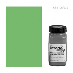 "Растекающаяся краска по тканям ""Javana Seidenmalfarben"" ЗЕЛЕНАЯ 275мл"