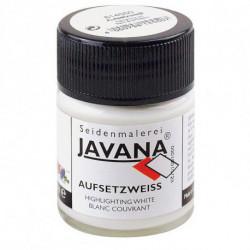 """Белая финишная кроющая краска """"Javana Aufsetzweis"""" 50 мл"""