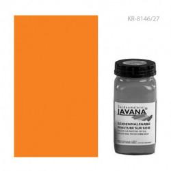 ОРАНЖЕВЫЙ ФЛЮОРЕСЦЕНТНЫЙ краска по тканям Javana Seidenmalfarben
