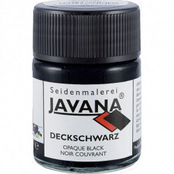 "Черная финишная кроющая краска ""Javana Deckschwarz"" 50мл"