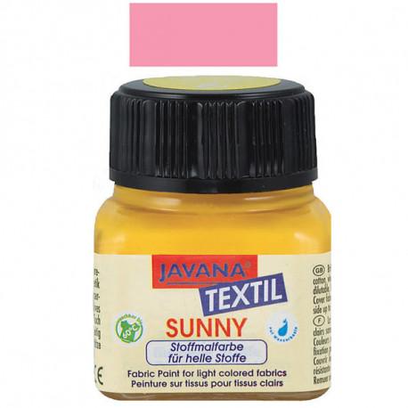 """Нерастекающаяся краска по свет. тканям """"Javana Tex Sunny"""" РОЗА"""