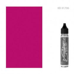 """Трансферная краска по ткани в аппликаторе """"Fashion Pen"""" РОЗОВЫЙ 29 мл"""