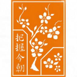 """Трафарет для текстильных красок """"Китайские мотивы"""""""