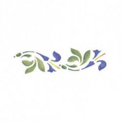 Трафарет универсальный 13*40 см Лилии