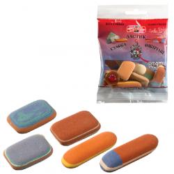Набор ластиков для графита пастели и чернил 6510 пакет с подвесом