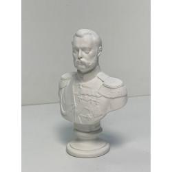 Бюст гипсовый. Александр II